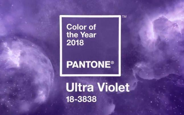 Culoarea anului 2018 - 18-3838 Ultra Violet