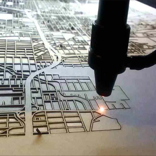 Echipament gravare si debitare laser