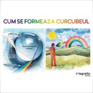 Cum se formeaza curcubeul - plansa educationala