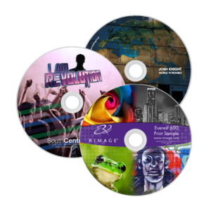 CDuri imprimate UV colorate si rezistente