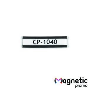 Eticheta magnetica, profil C (40 x 10 mm).