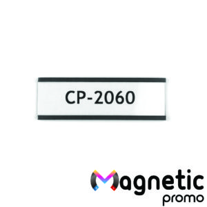 Eticheta magnetica, profil C (60 x 20 mm).