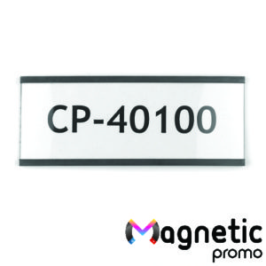 Eticheta magnetica, profil C 100 x 40 mm