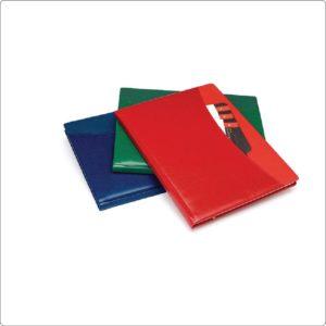 Agenda saptamanala Prestige personalizabila folio, timbru sec, print UV sau gravare laser.