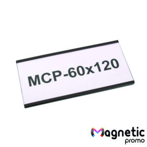 Eticheta magnetica, profil C 120 x 60 mm