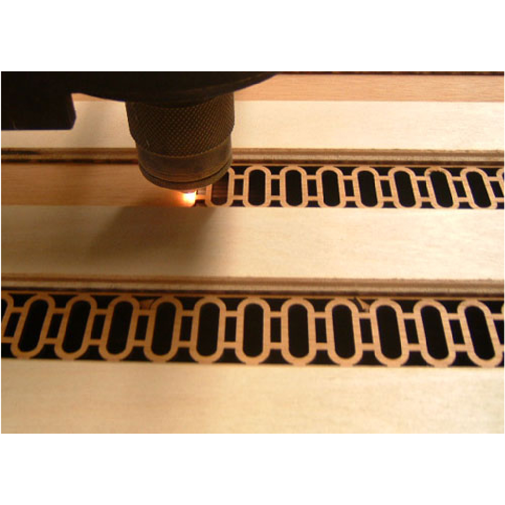 Grosimea razei laser