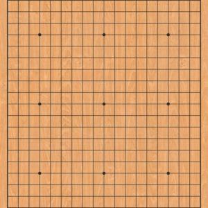 Tabla_Go_19x19_linii_textura_lemn_cu_personalizare