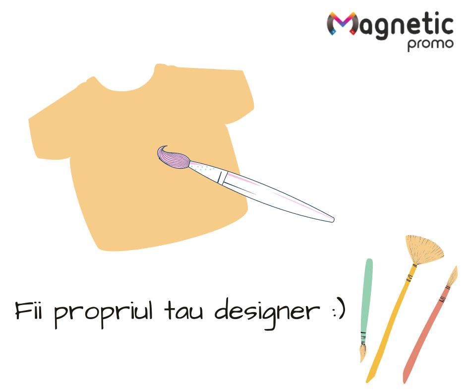 Tricouri personalizate - Magnetic Promo