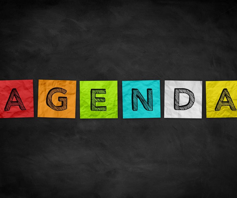 Agenda - organizarea zilei
