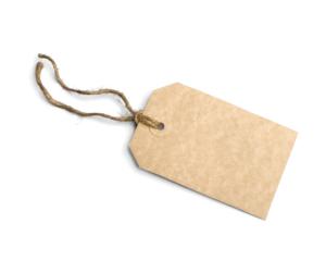Etichete din carton personalizate