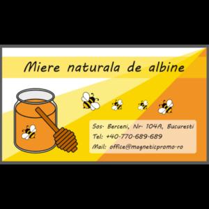 Reclama magnetica produse apicole