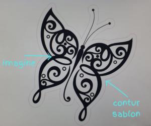 Personalizare casca moto: sablon