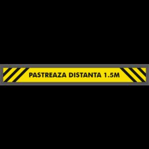 Sticker Covid-19: pastreaza distanta
