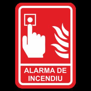 Semnalistica SSM si PSI: Alarma de incendiu