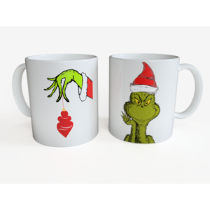 Set 2 cani de Craciun - Grinch