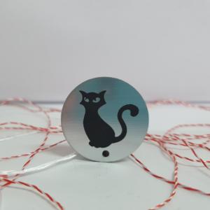 Martisor magnetic pisica mistica